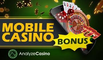 online casino mobile bonus